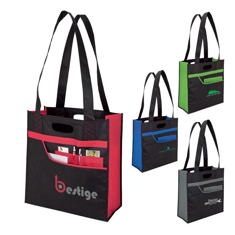 Accent Tote Bag w/ Organizer