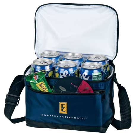 Deluxe 6 Can Lunch Cooler