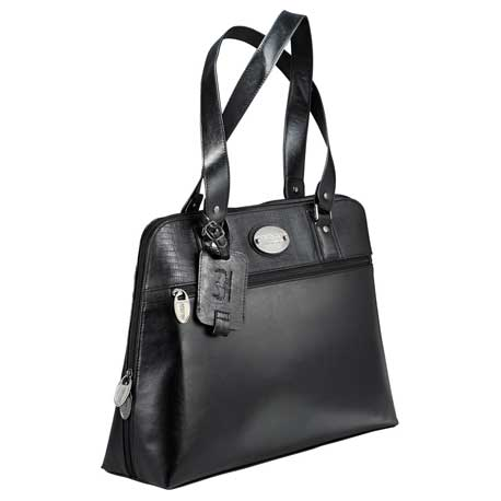 """Kenneth Cole® Snake-Trimmed 16"""" Computer Tote"""