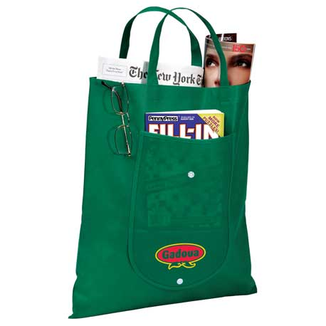 Maple Fold Up Non-Woven Tote