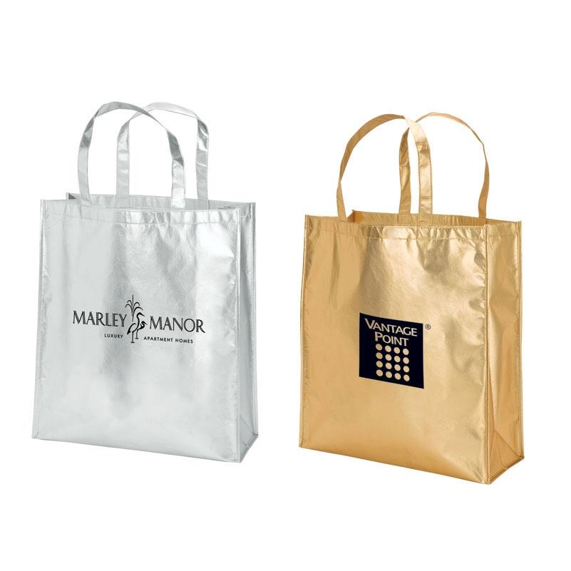 Metallic Fashion Tote Bag