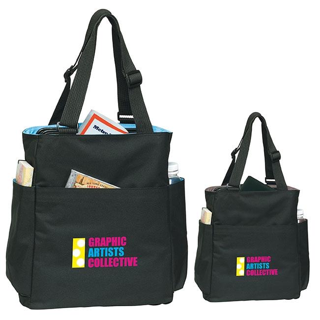 Quad Access Tote Bag