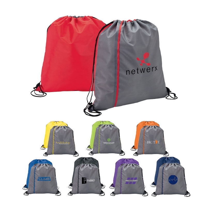 Reversible Drawstring Sport Bag
