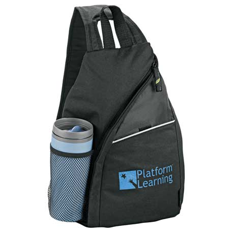 Tempo 100 percent Recycled PET Sling Backpack