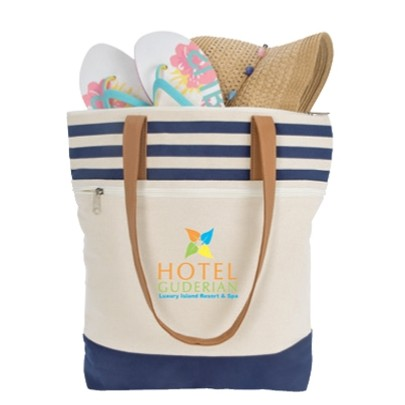 Atchison® Cora Lane Cotton Tote Bag