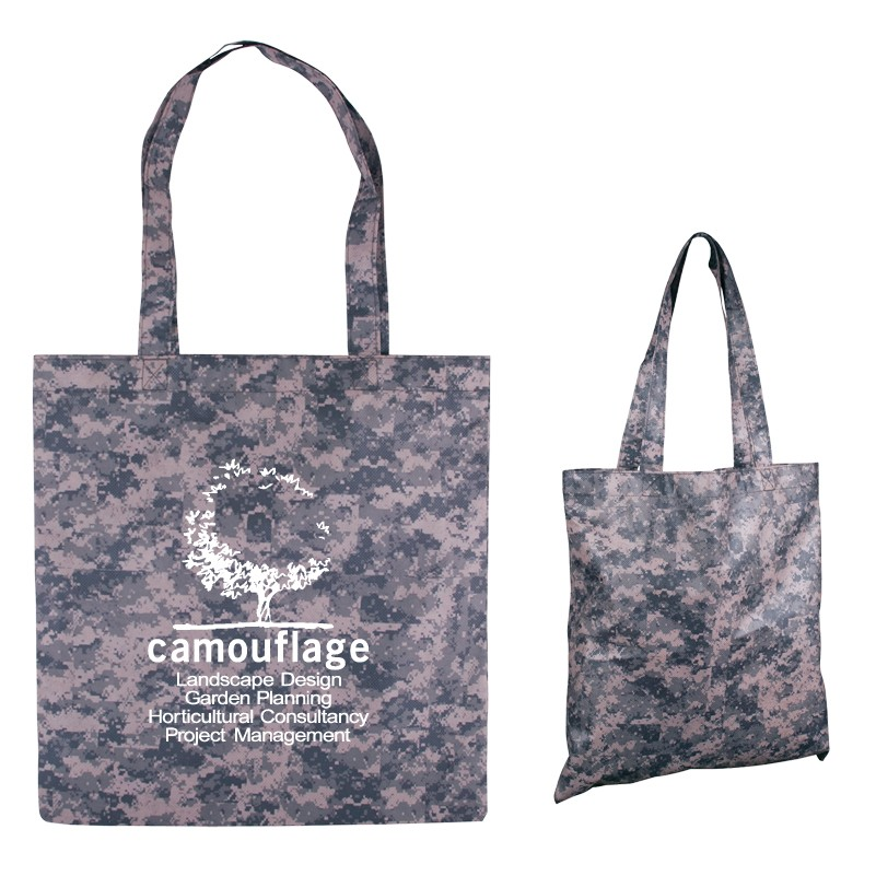 Digital Camouflage RPET Value Tote Bag