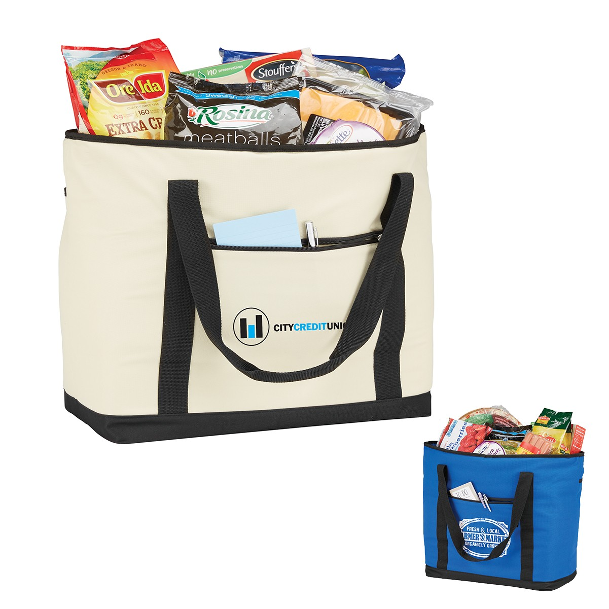 Jumbo Cooler Tote Bag