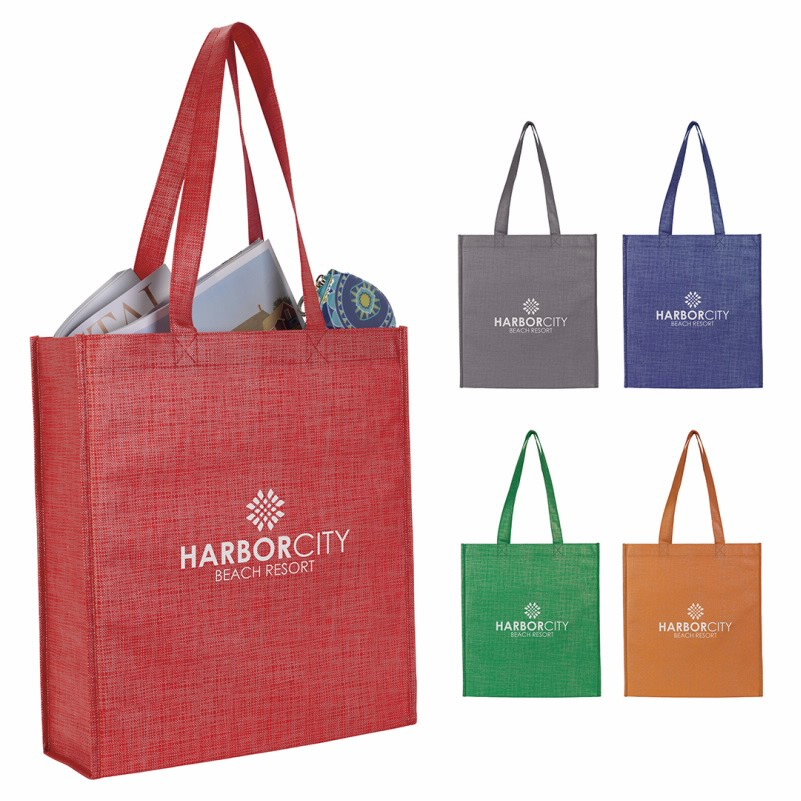 GoodValue® Non-Woven Shimmer Tote Bag