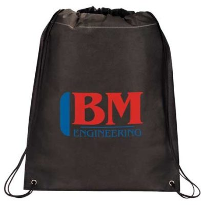 Large Heat Seal Drawstring Bag