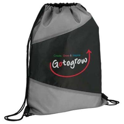 Pennant Drawstring Bag