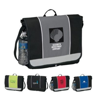 Color Accent Messenger Bag