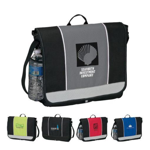 Color Accent Messenger Bag
