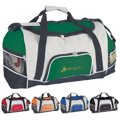 GoodValue® Tri-Pocket Sport Duffel Bag