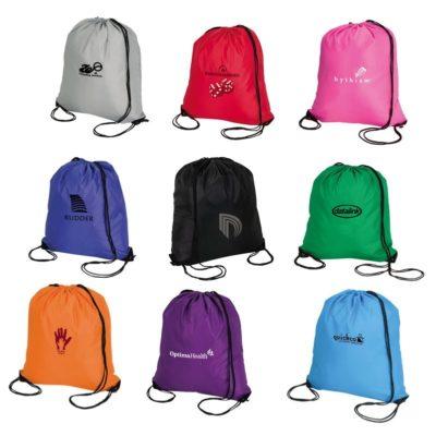 Large Drawstring Sport Tote Bag
