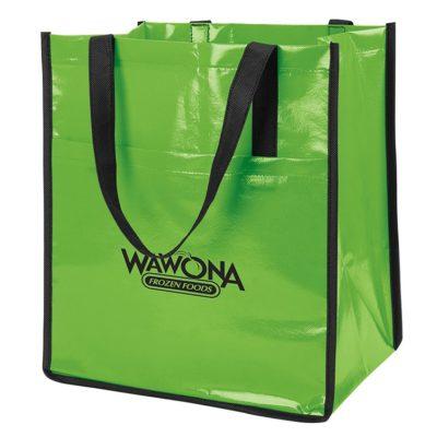 Non-Woven Slick Shopper Tote