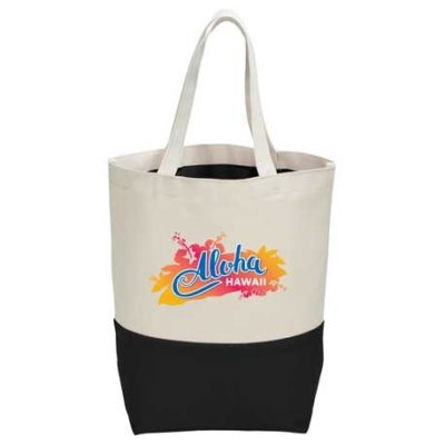 10 oz. Cotton Canvas Color Pop Tote