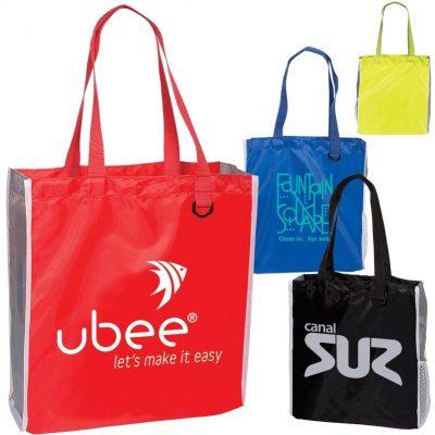 Blake Tote Bag with Side Mesh Pocket
