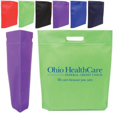 Die Cut Handle Non Woven Tote Bag