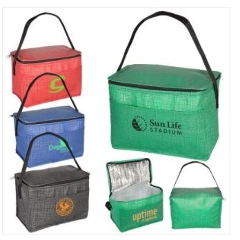 6-Pack Tonal Non-Woven Cooler Bag