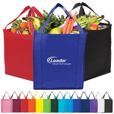 Saturn Jumbo Non-Woven Grocery Tote