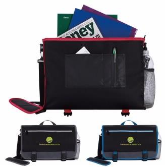 Atchison® Colorado Buckle Briefcase