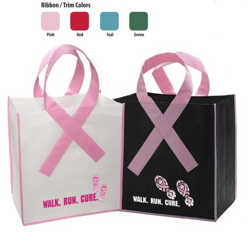 Ribbon Grocery Shopper Bag