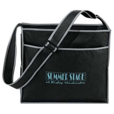 Deluxe Box Non-Woven Shoulder Tote