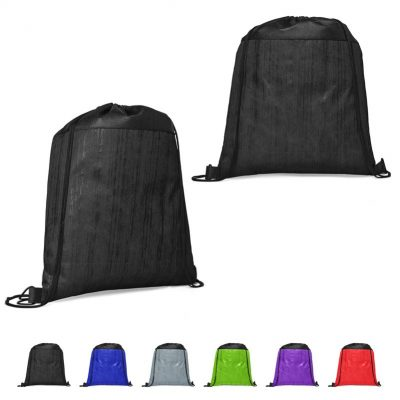Cedar Non-Woven Drawstring Backpack (Blank)