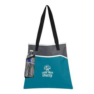 Dual Pocket Tote Bag