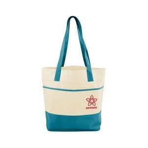 Mesh Bottom Beach Tote Bag
