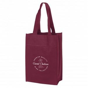Poly Pro Dual Wine Tote Bag