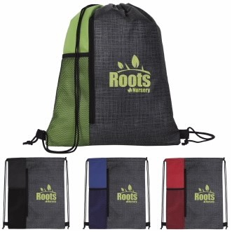 Good Value® Non-Woven Vertical Drawstring Backpack