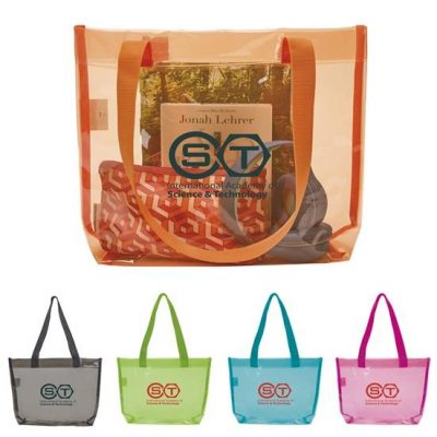 Good Value® Translucent Color Tote Bag