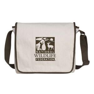 V Natural™ Cotton Messenger Bag